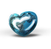 World heart Royalty Free Stock Photo