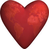 World Heart 3D Stock Image