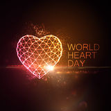 World Heart Day Background Royalty Free Stock Photos