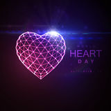 World Heart Day Background Royalty Free Stock Images