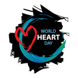 World Heart Day Royalty Free Stock Photography