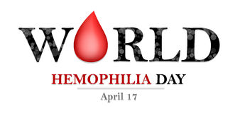 World Hemophilia Day Royalty Free Stock Images