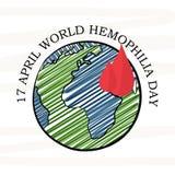 World Hemophilia Day Royalty Free Stock Photos
