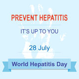 World Hepatitis Day Stock Images