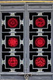 World Heritage : the ancient city of Pingyao paper-cut window grilles Stock Photos