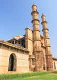 World heritage ancient site champaner india. Champaner main entrance to huge complex of ancient caves and buildings Royalty Free Stock Photography