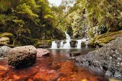 World heritage area elabana falls Royalty Free Stock Photos