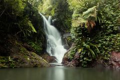 World heritage area elabana falls Royalty Free Stock Photography