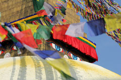 World Heritage boudhanath temple in kathmandu, Nep Stock Photos