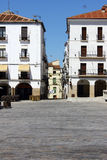 World heritage Caceres at Spain Stock Photography