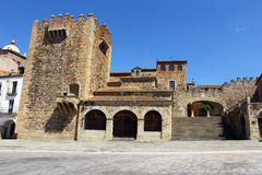 World heritage Caceres at Spain Royalty Free Stock Photo