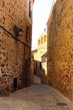 World heritage Caceres at Spain Royalty Free Stock Photography