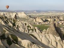 World Heritage, Cappadocia, Goereme, Turkey. Balloons over Goreme, Cappadocia Stock Photography
