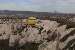 World Heritage, Cappadocia, Goereme, Turkey. Balloons over Goreme, Cappadocia Royalty Free Stock Photos