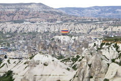 World Heritage, Cappadocia, Goereme, Turkey. Balloons over Goreme, Cappadocia Royalty Free Stock Photo