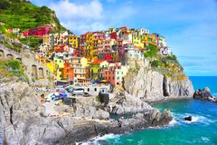 World heritage Chinque terre Royalty Free Stock Photos