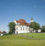 World heritage of church in Germany. Royalty Free Stock Photo