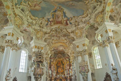 World heritage of church in Germany. Royalty Free Stock Image