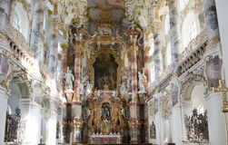Church Wies, Bavaria Stock Photography
