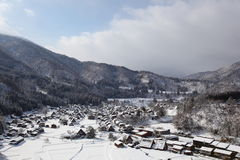 Historic Village of Shirakawago Royalty Free Stock Photography