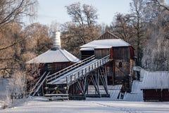 World heritage Ironworks in Engelsberg Sweden stock images