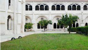 Monastery of Alcobaca, Alcobaca, Portugal Royalty Free Stock Photos