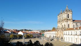 Monastery of Alcobaca, Alcobaca, Portugal Stock Images
