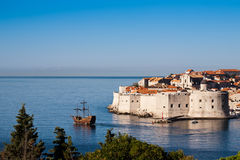 World heritage Old town of Dubrovnik Royalty Free Stock Photography