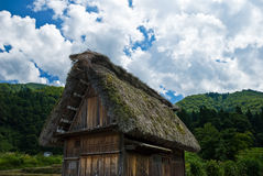 The world heritage Shirakawa-go. Royalty Free Stock Image