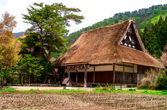 World heritage Shirakawa-go. The world heritage Shirakawa-go, rise farm house Royalty Free Stock Image