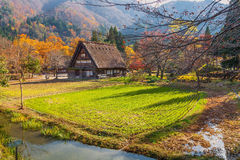 World Heritage, Shirakawago, Japan Stock Photography