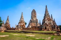 World Heritage Site in Ayutthaya, thailand Stock Photography