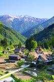 World heritage site Gokayama Royalty Free Stock Images