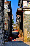 World Heritage Site Kaiping Diaolou and Villages. Kaiping has traditionally been a region of major emigration abroad, and a melting pot of ideas and trends Royalty Free Stock Images