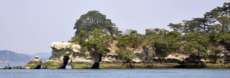World Heritage Site- Matsushima, Sendai, Japan Royalty Free Stock Image