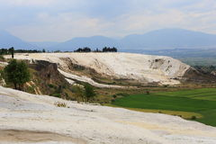 World Heritage site of Pamukkale Stock Photos