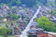 World heritage site Shirakawago Stock Photography