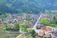 World heritage site Shirakawago Stock Photography