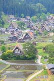 World heritage site Shirakawago Stock Images