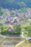 World heritage site Shirakawago Stock Images