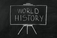 World history Stock Photo