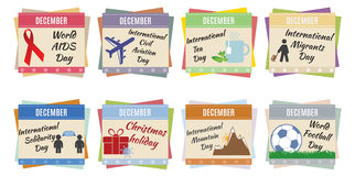 World holidays. December Stock Image