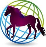 World horse logo Stock Photos