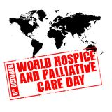 World hospice and palliative care day Royalty Free Stock Photo