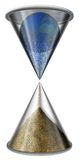 World Hourglass Royalty Free Stock Photo