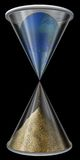 World Hourglass Royalty Free Stock Photography