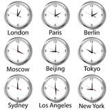 World hours Stock Photography