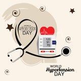 World Hypertension Day. Royalty Free Stock Image