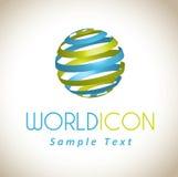 World icon Stock Images