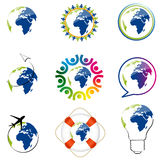World icons Stock Image